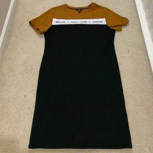 Forever 21 Milan New York Tokyo T Shirt Dress